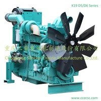 China Supplier 680HP 6 Cylinder 4 Strock Water Cooled Diesel Engine