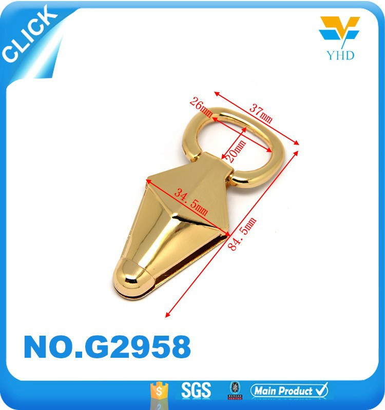 Triangle deisgn cheap wholesale China making luggage handle bag accessories