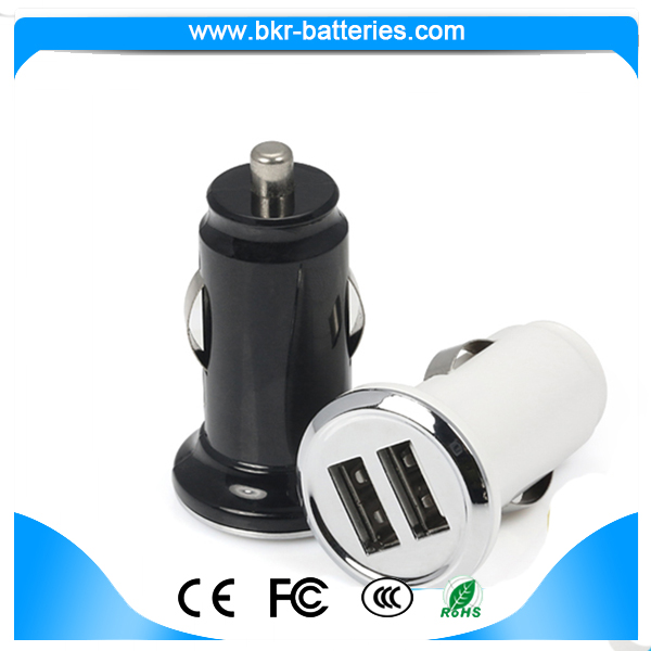 Short circuit protect car charger 5V/2.4A wholesale mobile phone car charger 12v