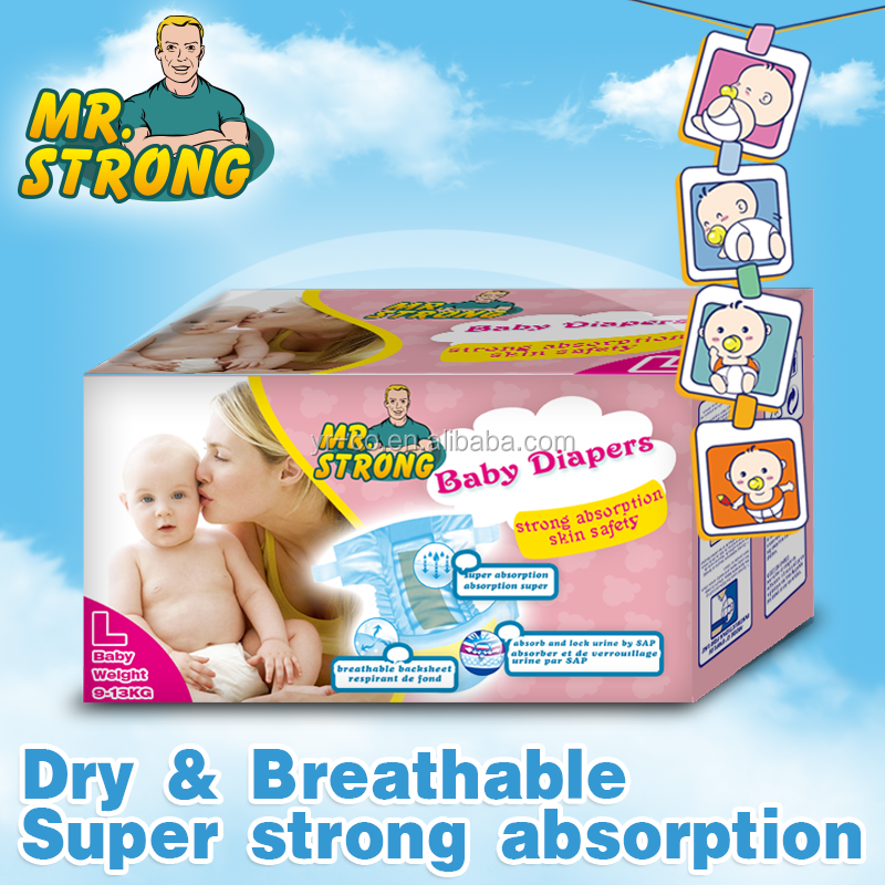 2016 hot sale baby diaper for baby care
