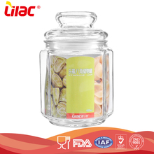 factory custom food graded High capacity durable candy glass bell jars wholesale