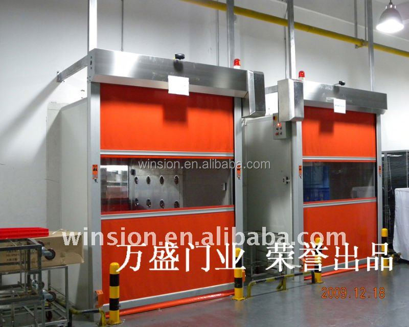 PVC Roller Shutter High Performance Roll-up Door