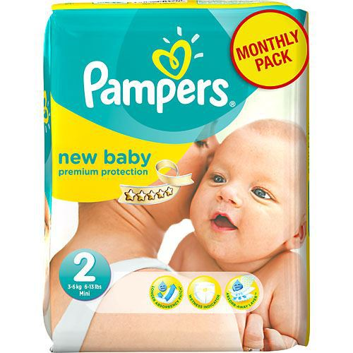 PAMPERS 240PCS New Baby S2 Diapers