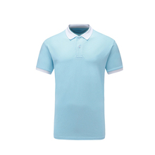 Color combination 100% cotton teen dress polo t-shirt