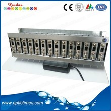 Professional Analog TV broadcasting equipment 16 channel fixed av rf modulator