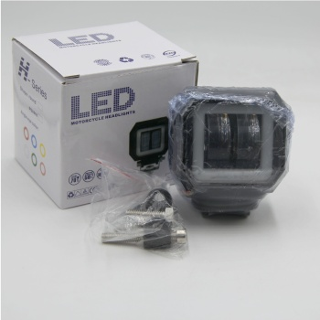 motorcycle LED working light 2000 lumen spot offroad light 20W