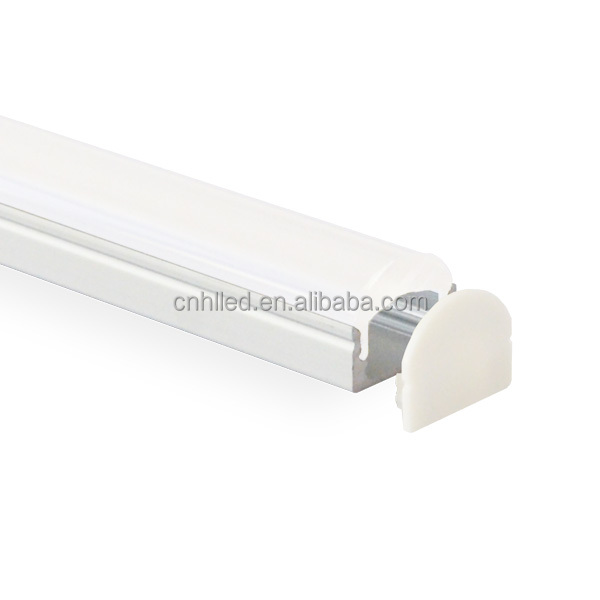 Best price 60 degree surface slim led extruded aluminum shapes with clear lens for led strips