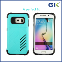 [GGIT] Cool TPU+PC Shockproof Phone Case For Samsung Galaxy S6 Edge, 2 in 1 Phone Case