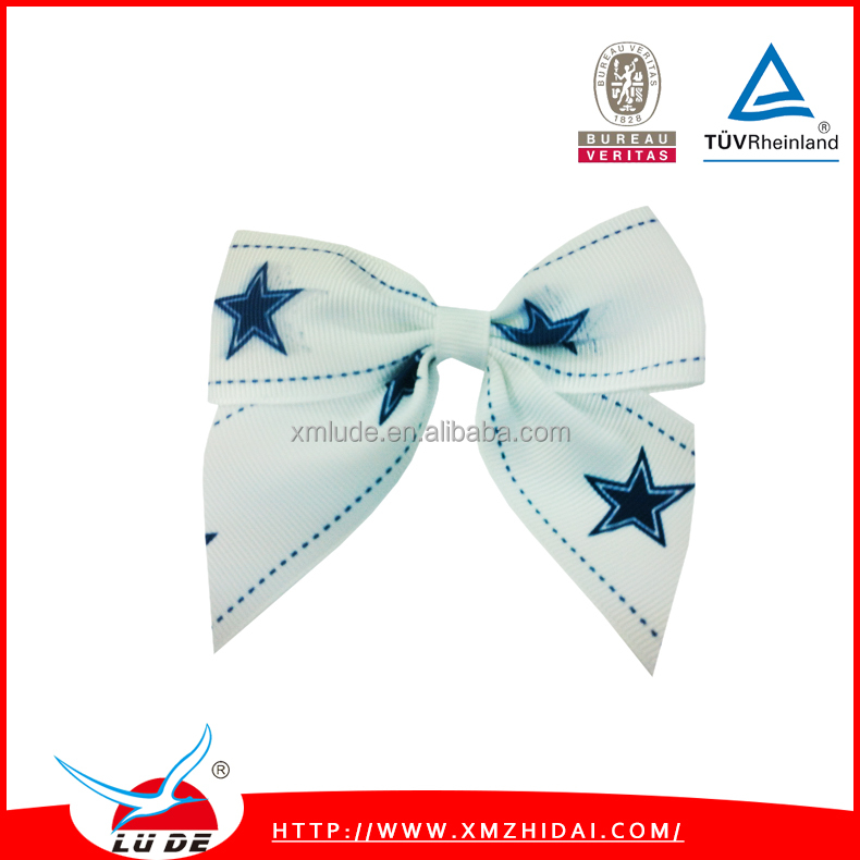 wholesale white christmas bows for gift packing