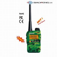 Original baofeng UV-3R walkie talkie receiver headset walkie talkies transceiver walky talky