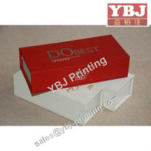 Black Box Flap Magnetic Catch With your Logo ,Spot UV Luxury box for Packing