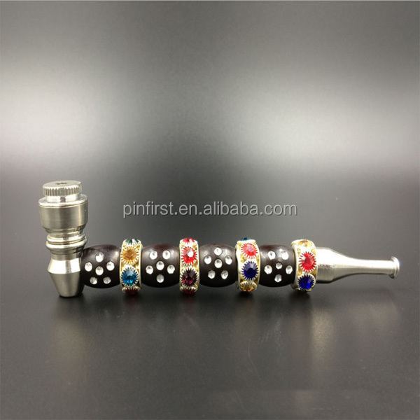 special design Beautiful make metal fancy metal smoking pipes