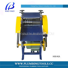HW-KA Enlarged Upper And Lower Adjustable Dual Boot Wire Stripping Machine