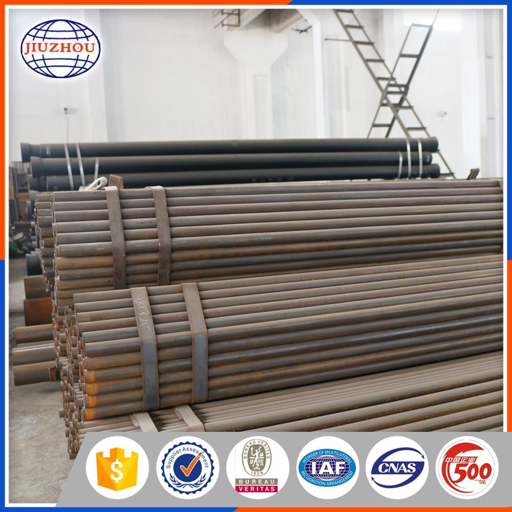 Testing Control Competitive Price Alibaba China Astm A315 6 Meter ERW Carbon Steel Pipe For Green House