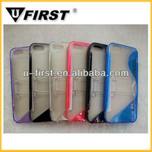 Hot!TPU+PC case cover for iphone 5,TPU+PC case for i5,mobile phone case