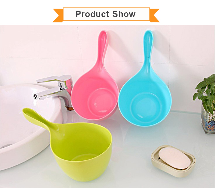 Hot Selling Candy Color Kitchen Plastic Water Scoop