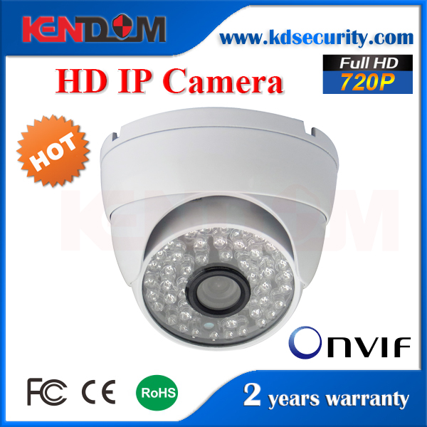 High Definition 720P 1 Megapixel IP Camera CCTV Camera External POE Optional with monitoring software