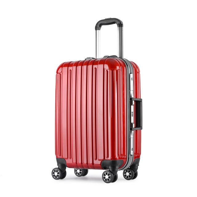 ABS/ABS+PC trolley luggage/travel suitcase with built in weight scale