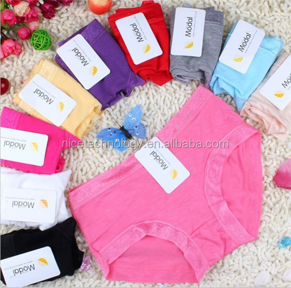 Young Girls Colorful Sexy Comfortable modal Panty
