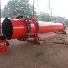 High capacity vacuum wood chips rotary dryer for sale