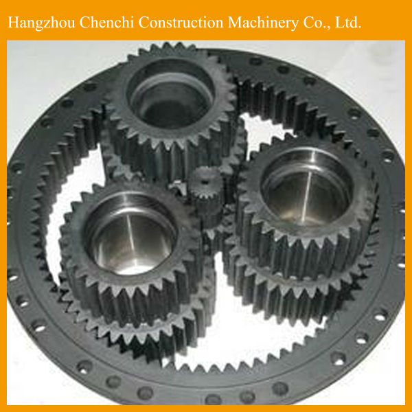 Hitachi EX100-5 excavator swing motor gear parts