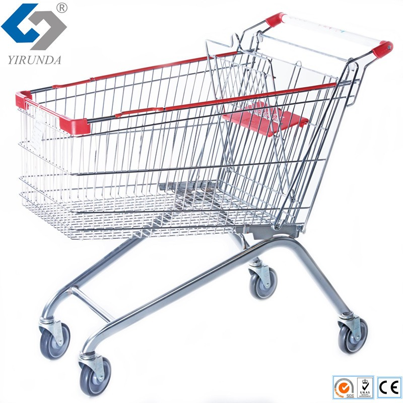 plastic america shoppping  trolley