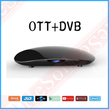 Android 6.1 tv box&dvb-s2 Amlogic S905 4k quad core wifi 2.4G Hz support hotpot