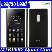 LEAGOO Lead 1 Smartphone Android 4.4 MTK6582 5.5 Inch HD OGS Screen China Brand Mobile Phone