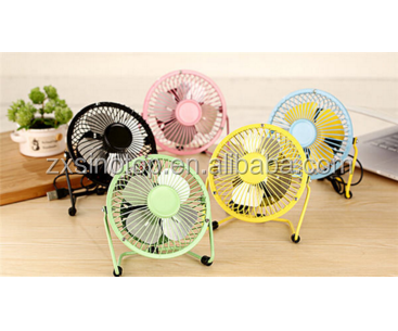 Hot Selling Summer Must-have 360 Degree Rotation Portable 6 Inch Mini Usb Fan
