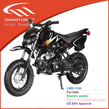 kids gas 70cc-110cc automatic gear dirt bike by electric start with new front light 2016 New