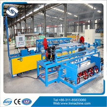 PLC chain link fence making machine manufacturing machinery