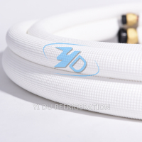 white embossing insulation copper ac pipe sizes
