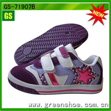 Wholesale Competitive Price Trendy Design No Lace Casual Shoes Pictures of Kids Girls Shoes