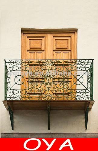 Unique wrought balcony models in homes for furniture
