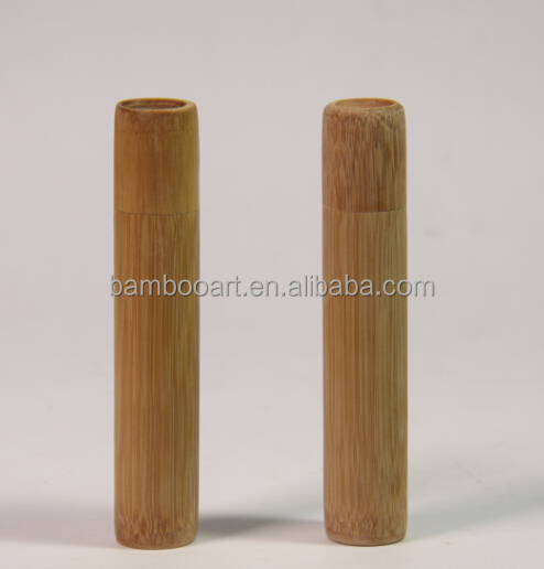 eco-friendly natural bamboo tubes