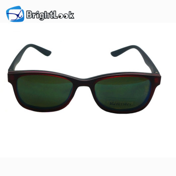 Wholesale clip-on multi-function frame night vision reading glasses