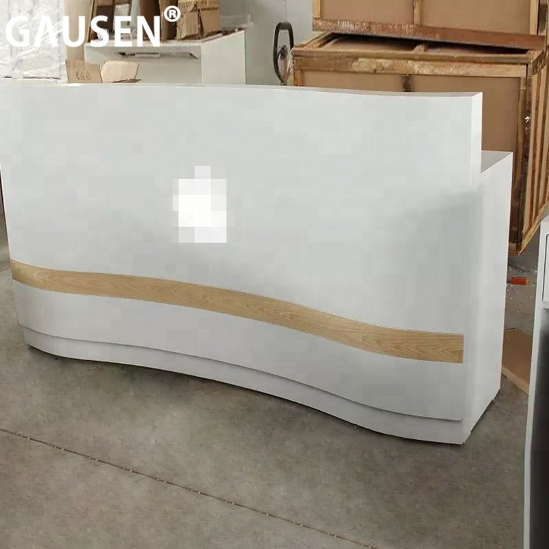 Hot Sale Customized Wooden Modern White Used Reception Desk - Buy Reception  Desk Modern,White Reception Desk,Used Reception Desk Product on ...