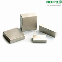 hot sale cube strong permanent ndfeb magnet with nickel coating from chinese manufacturer