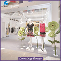 Giant Paper Flower On Stem For Shop Decoration WPAH-25