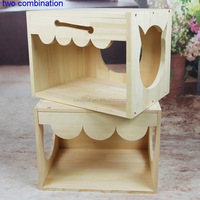 Factory wholesale bottom price nest house bed,cat ladder wooden dog house wood timber kennel