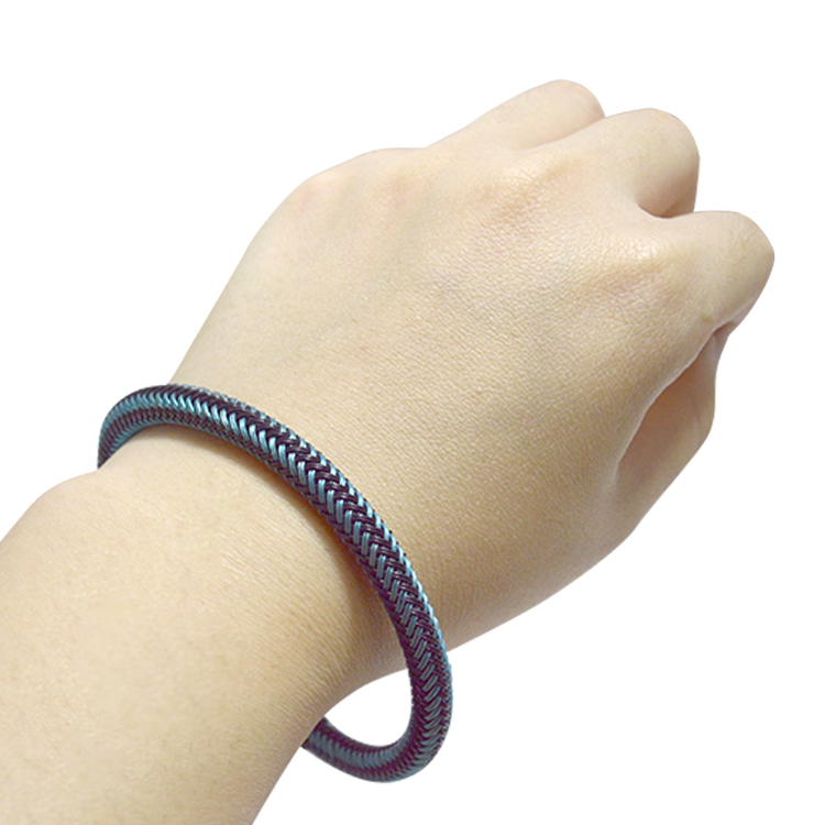 China factory direct lucky blue color italian bracelet for girl