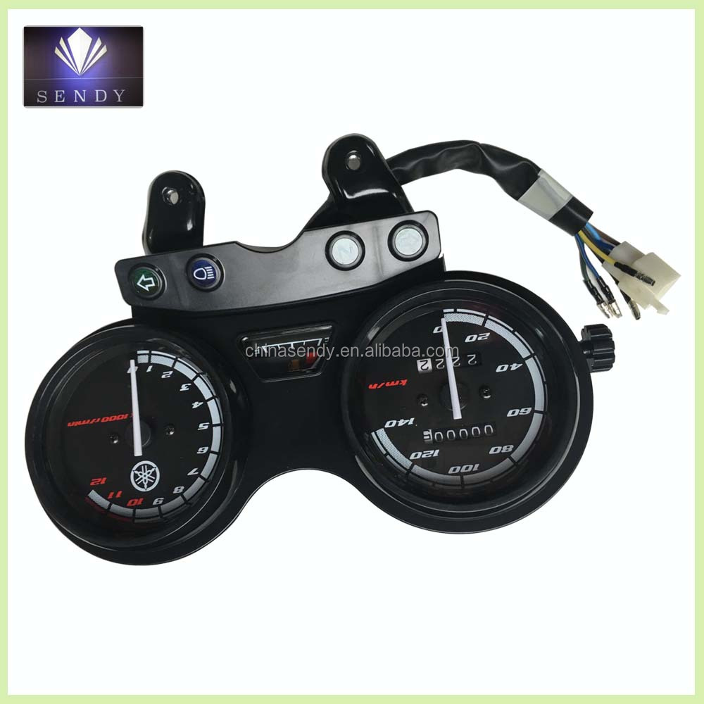 YBR125 parts motorcycle digital speedometer