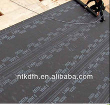 Breathable membrane for artificial grass for garden roof terrace