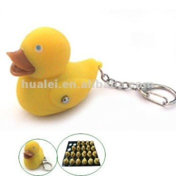 Duck Sound LED Keychain Light