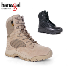 Custom made german desert military tactical boots,breathable army combat men shoes
