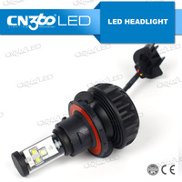 Waterproof IP65 h13 h4 led motorcycle headlight bulb from Guangzhou,China