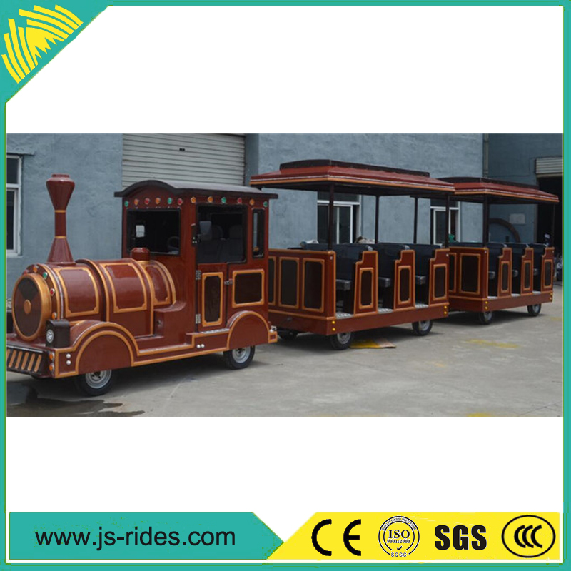 Customized shopping mall train model for kids