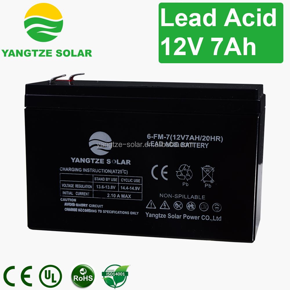 12V 7AH electric bike battery