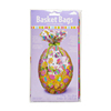 Happy Easter Egg Printed Cellophane Basket Shrink Wrap Bag