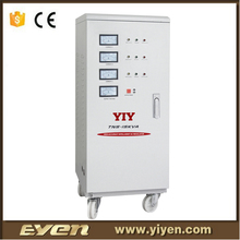 15KVA TNS three phase variac voltage regulators stabilizers high low voltage protection